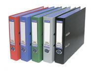 Папка-регистратор 75мм БАНКО ПВХ голубой метал окант карман/20 765447