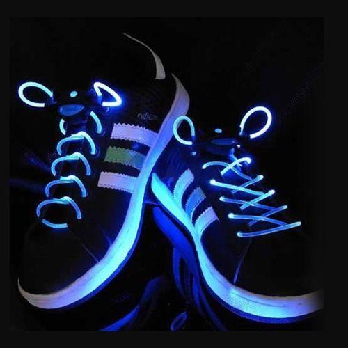 Шнурки с LED подсветкой (Цвет: Синий)