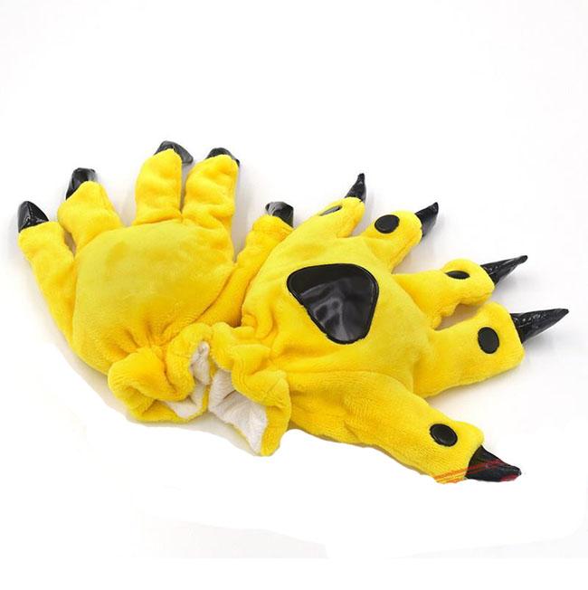 Перчатки Кигуруми Желтые