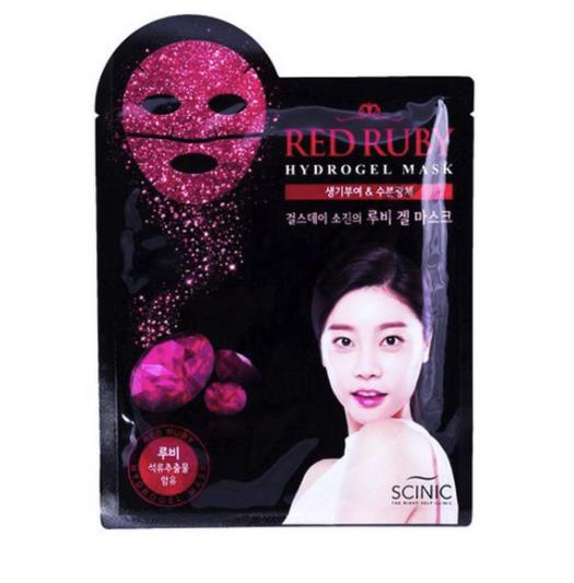 SCINIC - Гидрогелевая маска для лица с частицами рубина