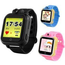 Умные детские часы с GPS Smart Baby Watch GW1000 (G75), Чёрные
