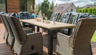 Набор садовой мебели: стол ПАРКЛЭНД + кресло ВЕРОНА 6 шт.