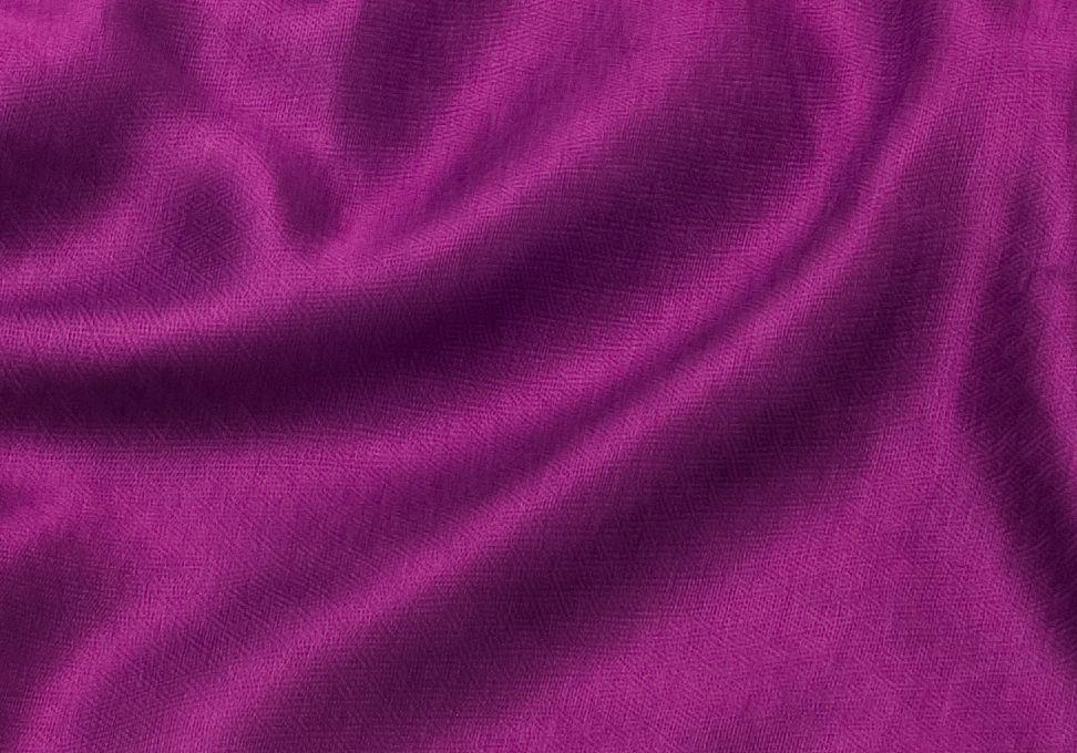 Шёлк + шерсть, фиолетовый шарф-палантин (Москва)