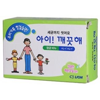 """CJ Lion Антибактериальное мыло """"Ai - Kekute"""" Лимонное масло, для всей семьи, 100 гр"""