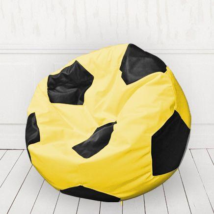 Кресло мяч Желтый с черным