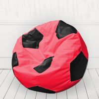 Кресло мяч Красный с черным