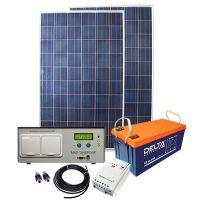 """Солнечная электростанция 1,3 кВт """"Холодильник на даче"""" с ИБП"""
