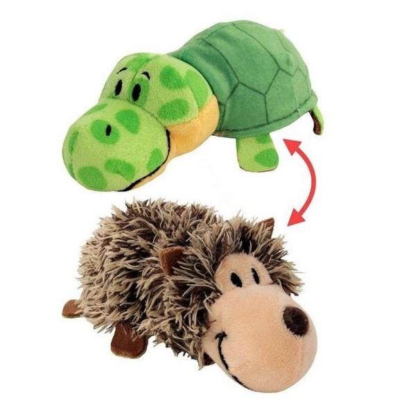 Мягкая игрушка Вывернушка 2 в 1  Ёж - Черепаха 1 TOY 40 см