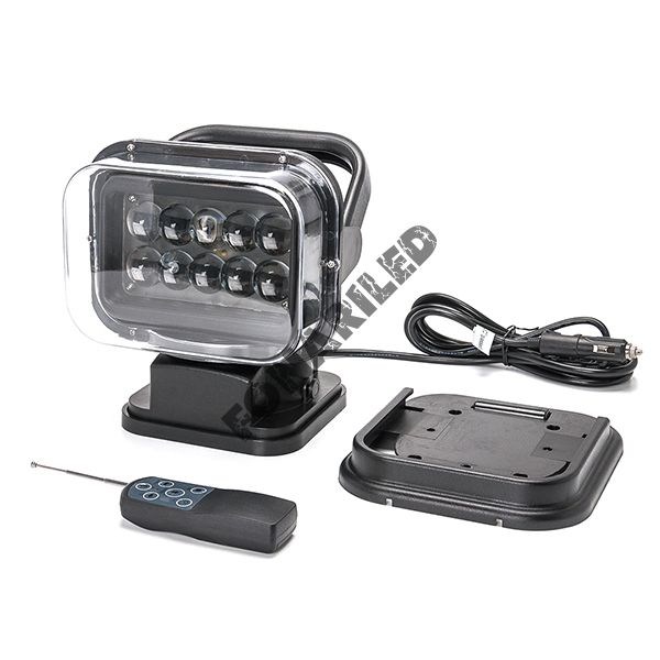 Черный фароискатель FI-BB4D-50W spot дальний направленный свет
