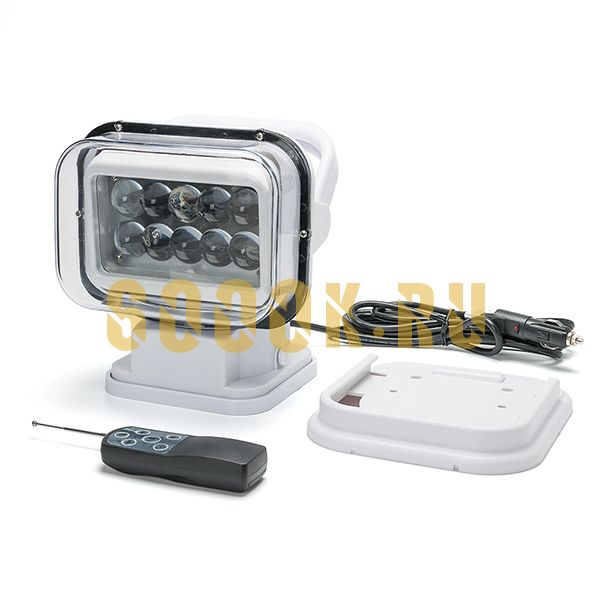 Светодиодный прожектор 50 Ватт Д/У для Катера и Лодки белый
