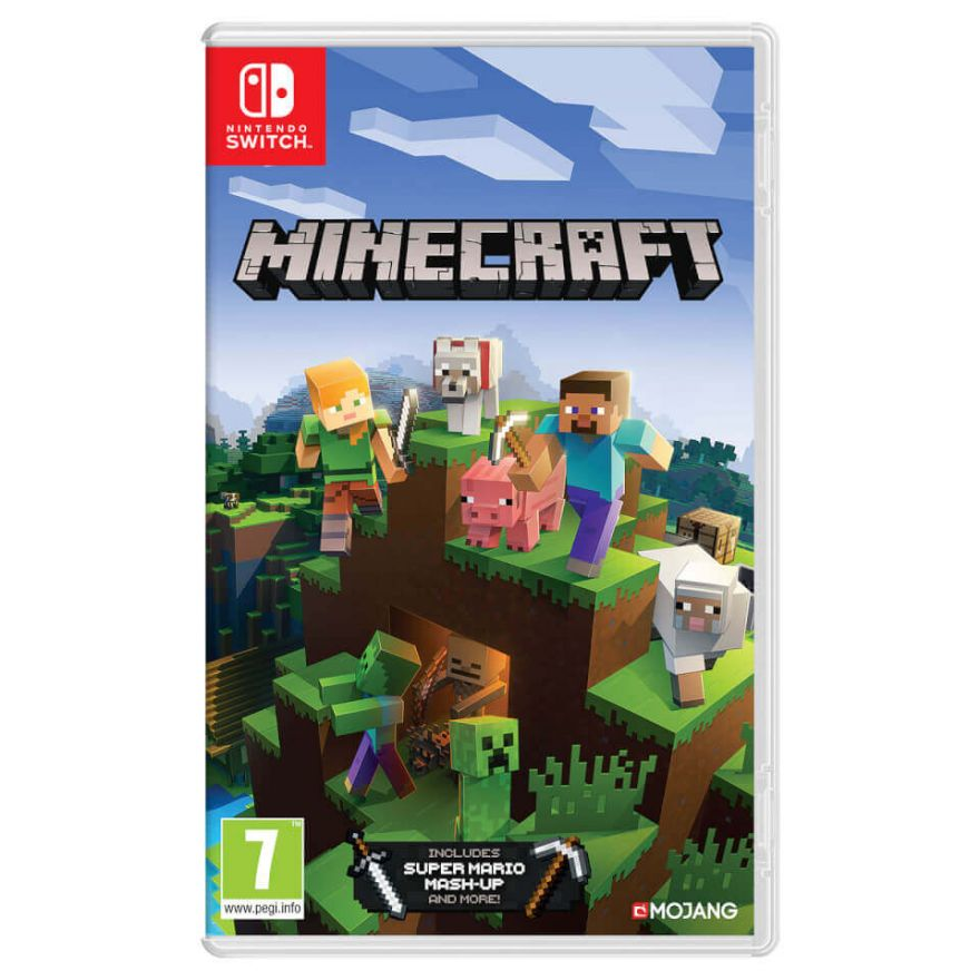 Игра Minecraft (Nintendo Switch)