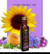 Смесь растительных масел №7 с содержанием Омега 3 6 9 (подсолнечное, льняное, тыквенное, из семян расторопши масла)
