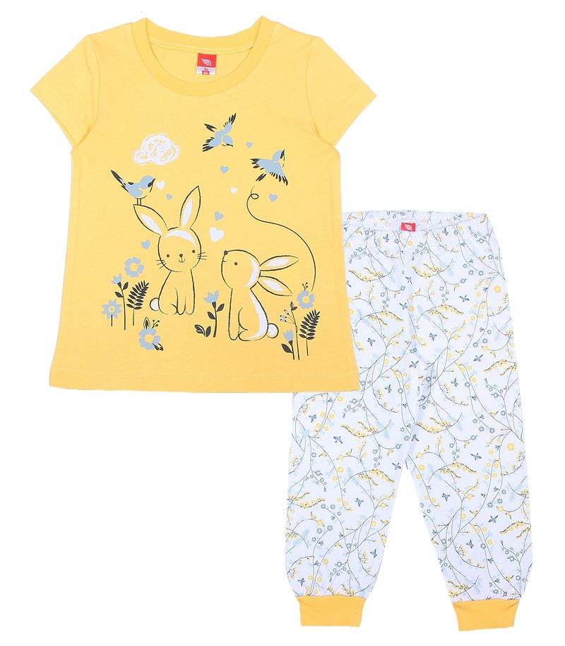 Пижама для девочки Заячья полянка