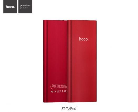 Портативный аккумулятор Hoco B16 (10000mAh), красный