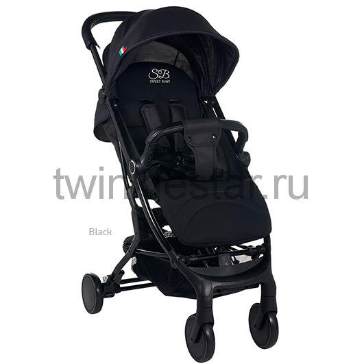 Прогулочная коляска Sweet Baby Combina Tutto черная расширенная комплектация