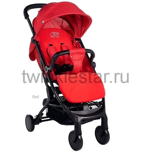 Прогулочная коляска Sweet Baby Combina Tutto красная расширенная комплектация