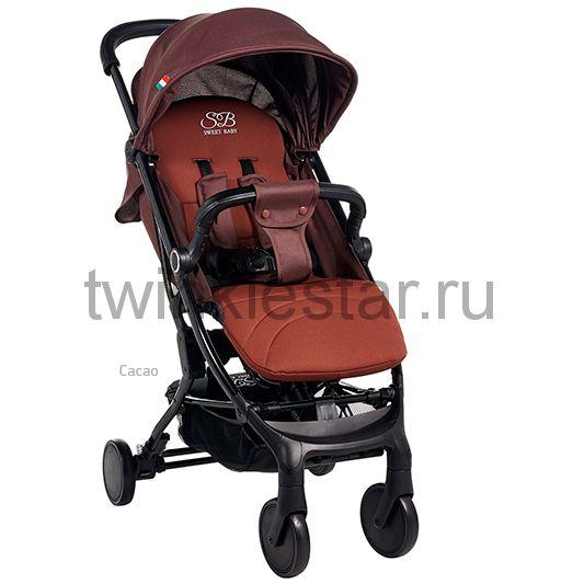 Прогулочная коляска Sweet Baby Combina Tutto какао расширенная комплектация