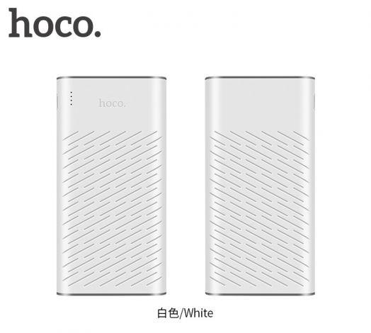 Портативный аккумулятор Hoco B31A Rege (30000mAh), белый