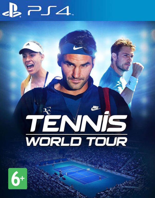Игра Tennis World Tour (PS4)