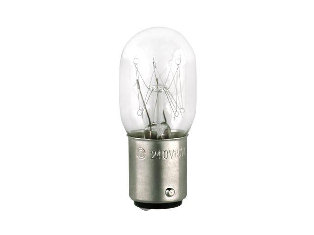 Лампочка для швейных машин двухконтактная