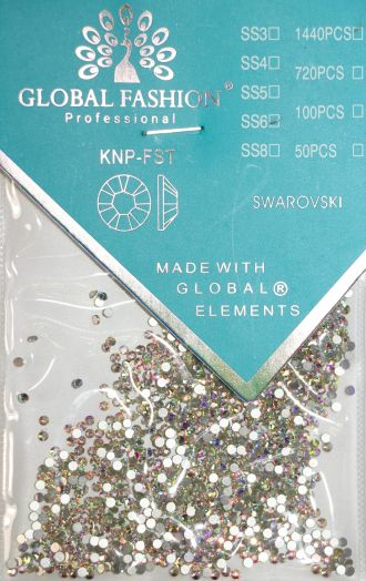 Стразы Глобал Фэшн кристалл SS6 1440 шт