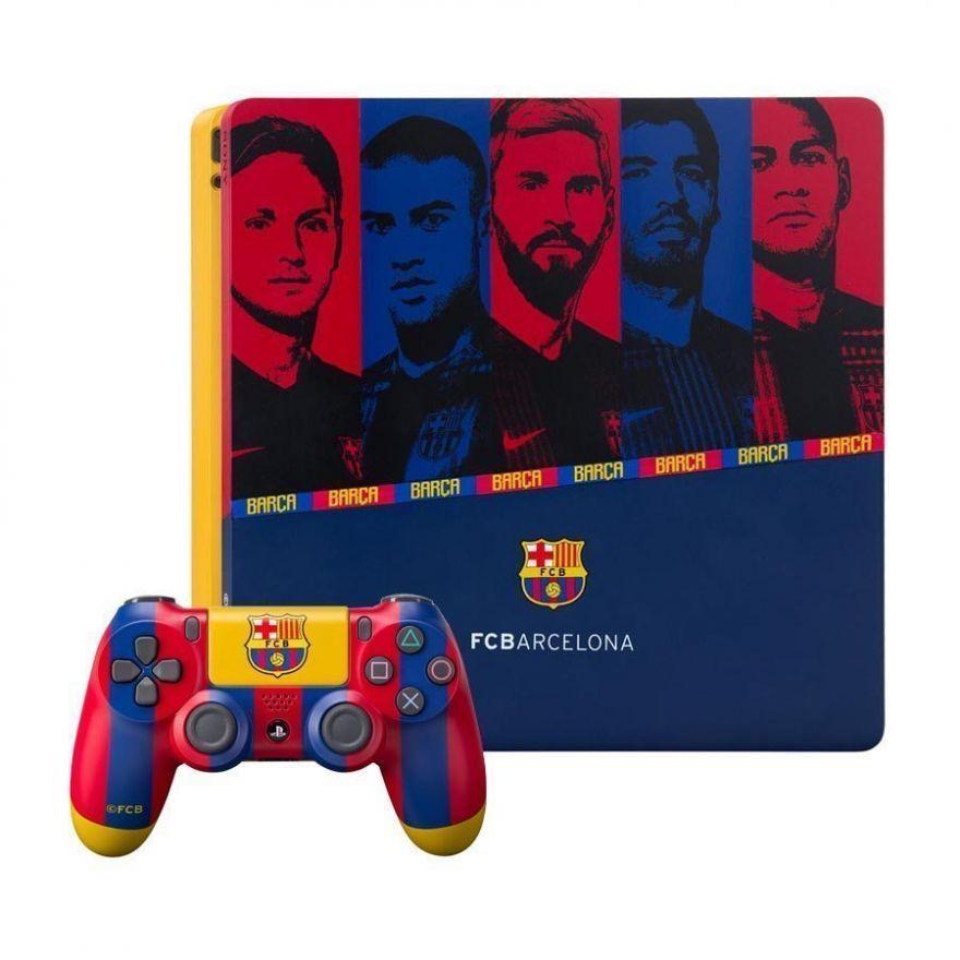 Игровая приставка Sony Playstation 4 Slim 500 ГБ CUH-2008A FC Barcelona