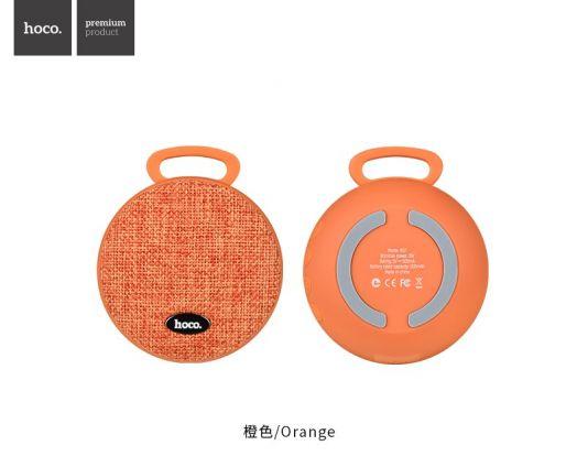 Портативная беспроводная колонка Hoco BS7 MoBu, оранжевый