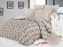 Постельное белье Сатин-кружево Нолан 1.5 спальный Арт.996/1