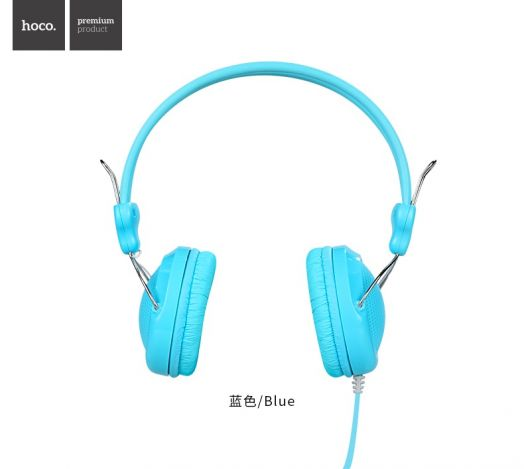 Полноразмерные наушники Hoco W5 Manno, синий