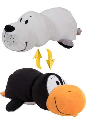 Мягкая игрушка Вывернушка 2 в 1 Морской котик - Пингвин 1 TOY 40 см