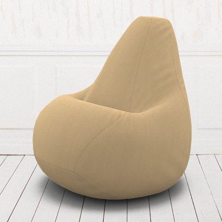 Кресло-груша Кент  3 темно бежевый