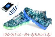 Светящиеся кроссовки с программируемым управлением UFO U4L11-GREEN