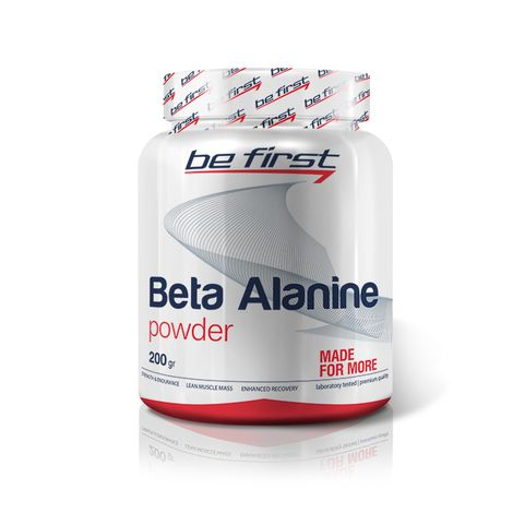 BeFirst Beta Alanine Powder 200 гр (без вкуса)  04/20