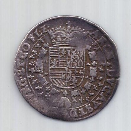1/4 талера  1598-1621 гг. ND. Фландрия. Испанские Нидерланды