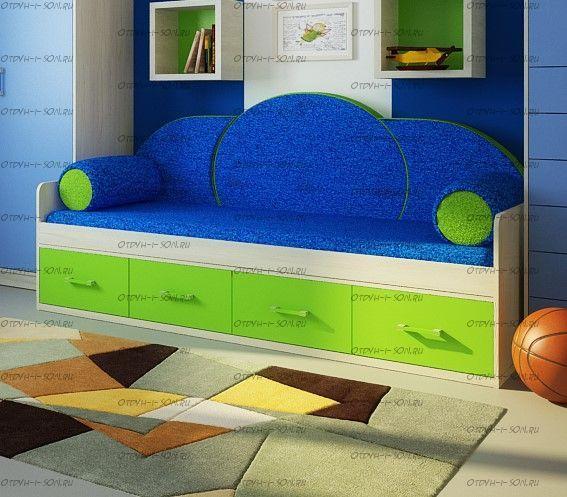 Кровать Фанки Сити ФС-01 (90х200)