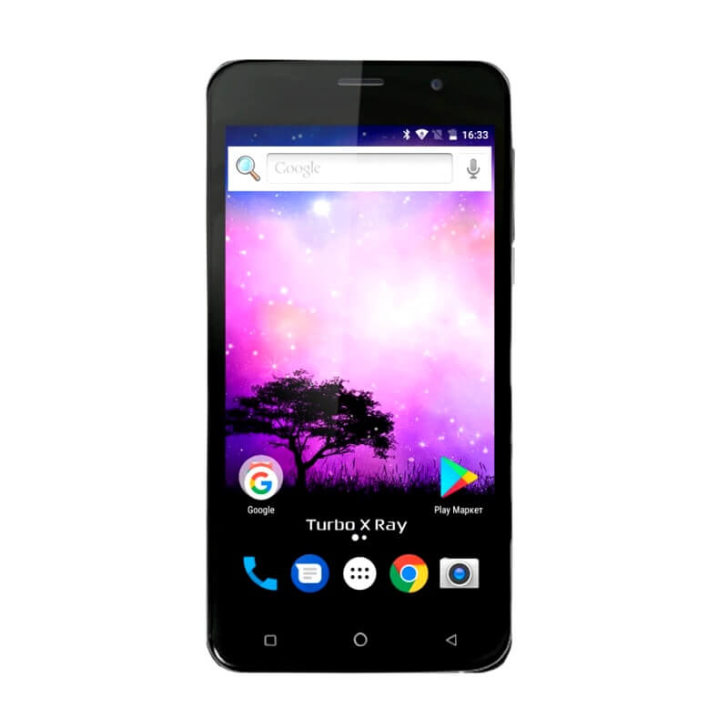 Смартфон Turbo X RAY, 4G LTE, 3G, 4-ядерный, Аndroid 7.0, 2500mA