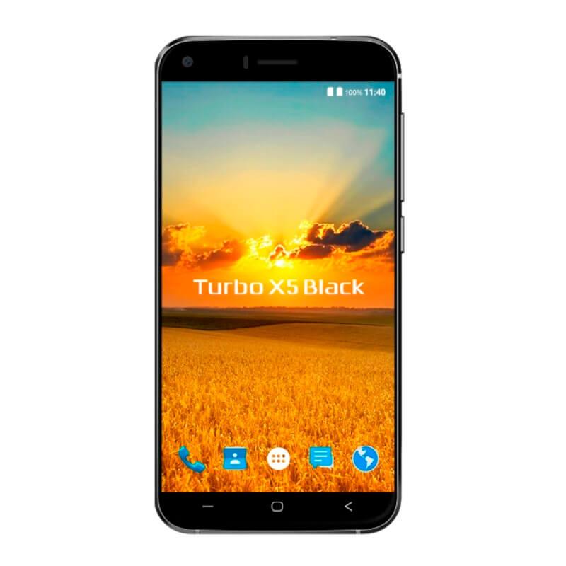 Смартфон Turbo X5 Black, 3G, 4-ядерный, Android 6.0, 2050 мАч