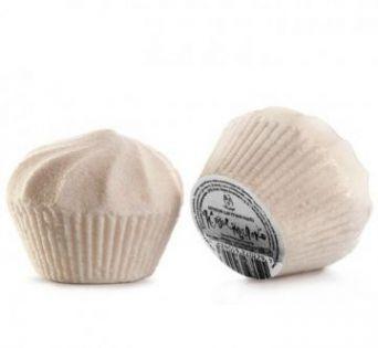 Бурлящий шар-МАФФИН(молочный) КОЗЬЕ МОЛОКО, 150 гр