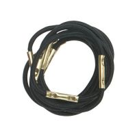 DEWAL Резинки для волос, черные, mini 10 шт/уп