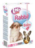 LoLo Pets Rabbit Baby Полнорационный корм для крольчат до 3 мес. (400 г)
