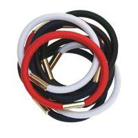 DEWAL Резинки для волос, цветные, maxi 10 шт/уп