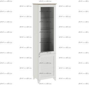Шкаф для посуды Ривьера ТД-241.07.25 (53х38х199)
