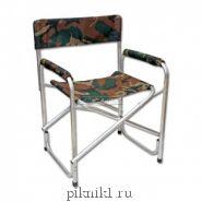 "Кресло складное 595х450х800 мм, алюминий ""СЛЕДОПЫТ"" PF-FOR-AKS01"