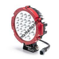 Красная светодиодная фара FGR21-63W spot дальний свет