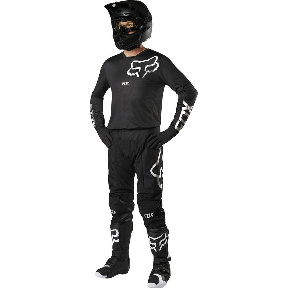 Fox - 2019 Airline Black комплект штаны и джерси, черные