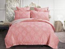 Комплект постельного белья Лен Soft cotton жаккард    2-спальный Арт.21/001-SC