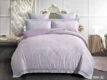 Комплект постельного белья Лен Soft cotton жаккард    2-спальный Арт.21/006-SC