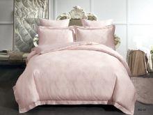 Комплект постельного белья Лен Soft cotton жаккард   евро  Арт.31/002-SC