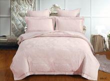 Комплект постельного белья Лен Soft cotton жаккард   евро  Арт.31/008-SC