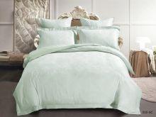 Комплект постельного белья Лен Soft cotton жаккард   евро  Арт.31/010-SC